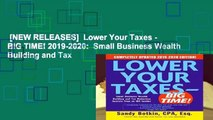 [NEW RELEASES]  Lower Your Taxes - BIG TIME! 2019-2020:  Small Business Wealth Building and Tax
