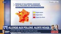Alors que le risque d'allergie associé aux pollens de graminées est très élevé comment en limiter l'impact ?