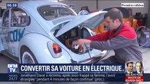 Convertir sa vieille voiture en véhicule électrique: c'est possible, mais pas légal