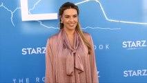 "Monica Fonseca STARZ ""The Rook"" Los Angeles Premiere Blue Carpet"