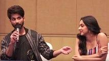 Shahid Kapoor And Kiara Advani Get Candid Before Kabir Singh Releases