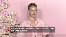 Rosie Huntington-Whiteley Has Specific Makeup Rules