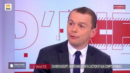 Olivier Dussopt - Public Sénat mardi 18 juin 2019