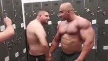 La meilleur façon de troller un bodybuildeur