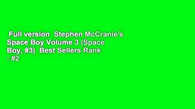 Full version  Stephen McCranie's Space Boy Volume 3 (Space Boy, #3)  Best Sellers Rank : #2