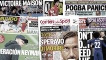 Les 3 conditions au retour de Neymar au Barça, la vendetta de Totti fait jaser en Italie