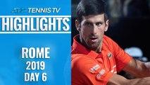 Djokovic Survives Del Potro Epic; Nadal, Schwartzman Into Semis | Rome 2019 Quarter-Final Highlights
