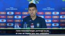 """Copa America - Firmino : """"Jouer pour Liverpool ou le Brésil, c'est pareil"""""""