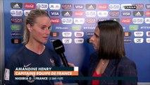 La réaction d'Amandine Henry après Nigéria / France