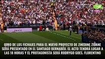 Rodrygo llega y se va: Zidane lo cambia por un fichaje (y Florentino Pérez cierra la operación)