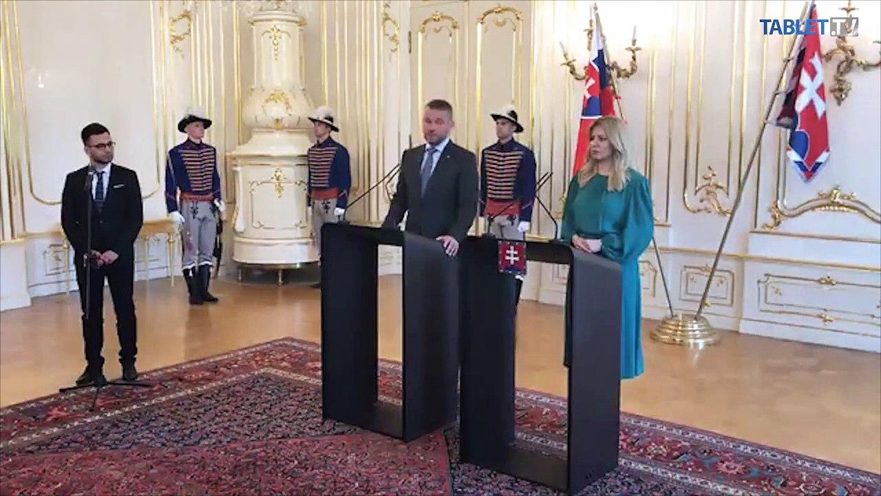 ZÁZNAM: Brífing prezidentky Z. Čaputovej a premiéra P. Pellegriniho