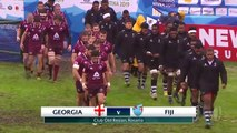 U20s Highlights Georgian beat Fiji in epic match