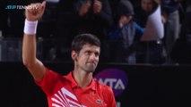 Djokovic vs Del Potro: Incredible Shots - Moments | Rome 2019 Quarter-Final
