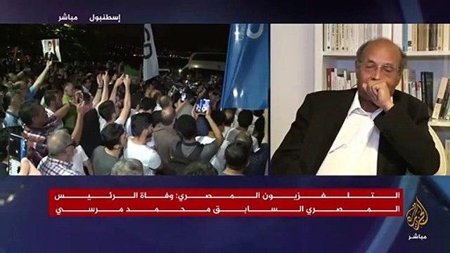 Eski Cumhurbaşkanı gözyaşlarını tutamadı.. Duygu dolu 'Mursi' mesajı