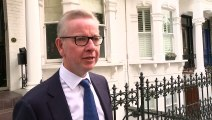 Gove says he is feeling confident ahead of today's voting