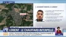 """""""On attendait ça depuis une semaine."""" Le porte-parole des familles de victimes témoigne son soulagement après l'interpellation du chauffard de Lorient"""