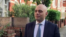Javid:'I'm quietly confident things will be very good today'