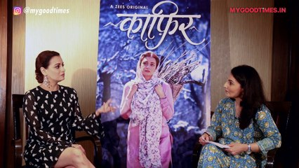 Dia Mirza Reveals How Ranbir Kapoor Made Her Forget Her Lines | Dia Mirza On Kaafir | Zee5
