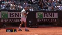 Roger Federer Epic Defence - Winners vs Sousa | Rome 2019