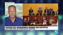 """Morsi inhumé sous très haute sécurité : """"Il ne fallait pas qu'il devienne un martyr"""""""