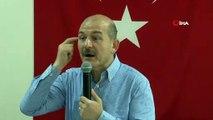 Bakan Soylu: 'Bugün İstanbul'da seçim kazanmak için dün 'Sizin Allah'ınız' deyip, hepimize hakaret edip; şehidimize, milletimize, ne kadar kutsalımız varsa hakaret edip bugün 3 tane oy alabilmek için Kılıçdaroğlu ile İmamoğlu'nun yanında