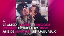 Alizée et Grégoire Lyonnet : des photos inédites dévoilées pour leurs trois ans de mariage