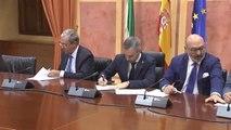 Partido Popular, Ciudadanos y VOX firman el acuerdo de presupuestos en Andalucía