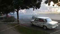Al menos once heridos tras perder un coche de rally el control en Hungría y empotrarse contra el público
