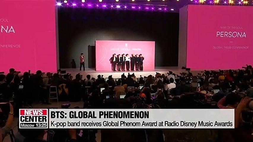 BTS wins award at Radio Disney Music Awards - 동영상 Dailymotion