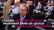 Mondial 2022 : Michel Platini placé en garde à vue