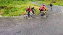 Les cyclistes de l'EC Baume-les-Dames ont souffert dans La Planche-des-Belles-Filles