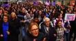 La Fiscalía pide 10 meses de cárcel para los tres hombres que insultaron a mujeres en una manifestación