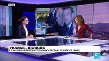 France-Ukraine : le nouveau président Zelensky reçu à l'Elysée
