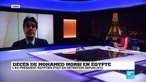Décès de Mohamed Morsi en Egypte, après un malaise au tribunal