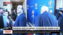 """Mondial 2022 au Qatar: Placé ce matin en garde à vue, Michel Platini se dit """"totalement étranger à des faits qui le dépassent"""""""