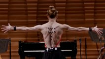 Watch This Dancer Play The Piano Without Touching It