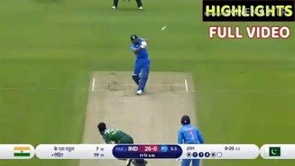 India Vs Pakistan Match World cup 2019 Full Match Highlights