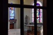 Chantier de restauration des fresques de l'église Saint-Arbogast de Surbourg