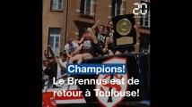 Le Stade Toulousain champion de France ! Revivez en images le retour du Brennus à Toulouse