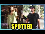 Cute Couple Ranbir Kapoor and Alia Bhatt return from Banaras after Bhramastra's shoot