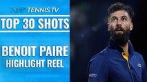 Top 30 Ridiculous Benoit Paire Shots!