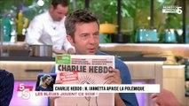 Une de Charlie Hebdo : Charlotte Namura d'accord avec Nathalie Iannetta (Exclu Vidéo)