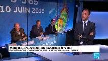 Platini en garde à vue : nouveau coup de théâtre autour du Mondial qatari