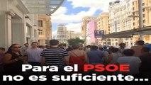 """PSOE dice que hay """"muchos motivos para estar orgullosos"""" del país"""