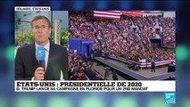 Trump promet un grand show en Floride, 2020 dans le viseur