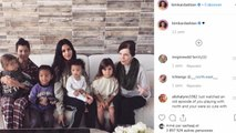 PHOTO. Kim Kardashian partage un adorable moment de tendresse entre ses deux fils Psalm et Saint