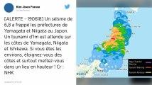Japon. Alerte au tsunami après un puissant séisme