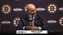 Bruins Jeremy Jacobs, Charlie Jacobs, Cam Neely End Of Season Press Conference