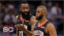 Tension exists between Chris Paul and James Harden - SportsCenter