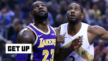 Kawhi is in play for the Lakers after the Anthony Davis trade - Damon Jones - Get Up